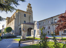 Convent of San Francisco in Santo Domingo de la Calzada Royalty Free Stock Image
