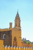 Convent of San Gabriel and Church of Our Lady of Remedies in Cholula, Mexico Stock Image