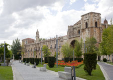 The Convent of San Marcos in León Stock Photography