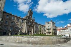Convent of San Martino Pinario Stock Images