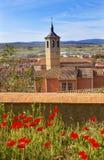 Convent Santa Maria Avila Ancient Medieval City Spain Stock Image