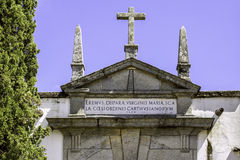 Convent of Santa Maria Scala Coeli, popularly called Cartuxa. Stock Images