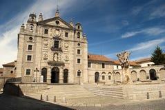 Convent of Santa Teresa in Avila (Spain) Royalty Free Stock Image