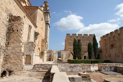 Convent in Simat de Valldigna,Valencia,Spain Stock Photos
