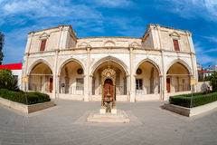 The Convent of Sisters of St. Joseph of the Apparition. Larnaca, Cyprus Stock Photo