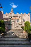 Convent of St. Agostiniano in Forza d'Agro, Sicily Royalty Free Stock Images