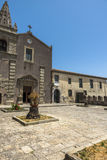 Convent of St. Agostiniano in Forza d'Agro, Sicily Stock Images