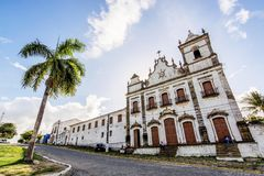 Convent of St. Anthony and Ensemble of the Sacred Heart of Jesus, Igarassu, Pernambuco, Brazil stock photography
