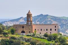 Convent of St. Francesco. Tursi. Basilicata. Italy. Royalty Free Stock Images