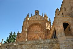 Convent of St. Stephen, Salamanca Royalty Free Stock Photos