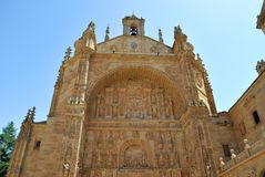 Convent of St. Stephen, Salamanca Royalty Free Stock Photo