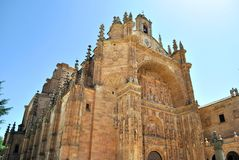 Convent of St. Stephen, Salamanca Stock Photo