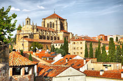 Convent of St. Stephen in Salamanca Stock Photography