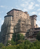 Convent of St. Stephen - working female monastery in Meteora Royalty Free Stock Photo