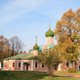 Convent of St. Theodore in the town of Pereslavl-Zalessky Stock Photos