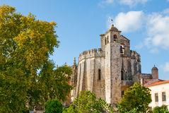 Convent of Tomar and castle Royalty Free Stock Photography