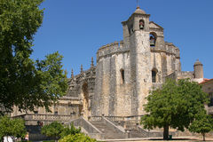 The convent of Tomar, Portugal. The historic templar christian convent at Portugal Royalty Free Stock Photos