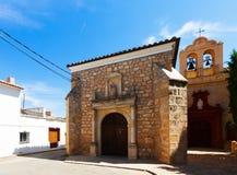 Convent of Trinitarias Recoletas. El Toboso Royalty Free Stock Image