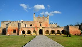 Convent in Valladolid, Mexico. Convent in Valladolid Mexico Royalty Free Stock Photography