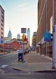 Convention Center -District in het Stadscentrum van Philadelphia royalty-vrije stock afbeeldingen