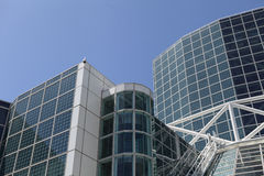 The Convention Center in Downtown Los Angeles Stock Photography
