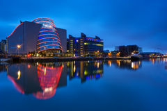 Convention Center Dublin en Irlande images libres de droits