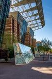 Convention Center exterior en Phoenix, AZ Imágenes de archivo libres de regalías