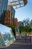 Convention Center exterior en Phoenix, AZ Imagenes de archivo