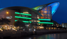 Convention Center - Hong Kong stock photography