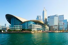 The convention center of Hong Kong Royalty Free Stock Photography