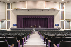 Convention Center. Interior of Empty Convention Center Stock Photos