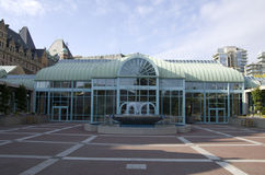 Convention center Victoria BC Royalty Free Stock Image