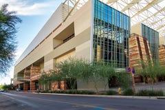 Convention Center yttersida i Phoenix, AZ Royaltyfria Bilder