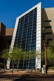 Convention Center yttersida i Phoenix, AZ Arkivbilder