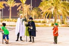 Convention 2015 d'allumage Bahrain photographie stock
