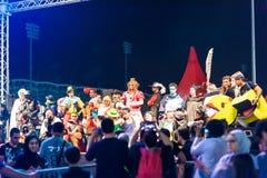 Convention 2015 d'allumage Bahrain photo libre de droits