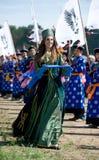 Convention de Mongolians du monde Photo libre de droits