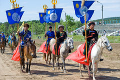 Convention de Mongolians du monde Image stock