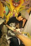 Convention de tatouage image libre de droits