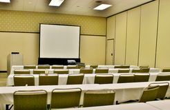 Convention meeting space Stock Image