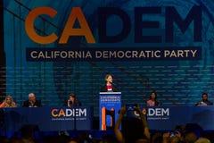 2019 convention nationale Democratic, San Francisco, la Californie photos stock