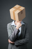 Conventional Business - Think in a Box Stock Photos