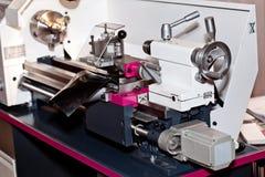 Conventional Precision Lathe machine Stock Images