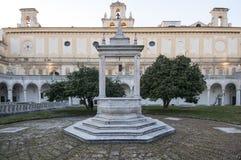 Convento Carthusian san Martino, Napoli, campania, Italia, Europa Fotografie Stock