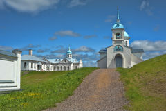 Convento da intercessão de Tervenichesky Fotografia de Stock