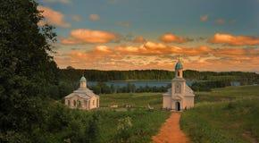 Convento da intercessão de Tervenichesky Fotografia de Stock Royalty Free