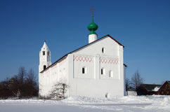 Convento da intercessão em Suzdal Imagens de Stock