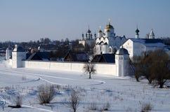Convento da intercessão em Suzdal Imagem de Stock