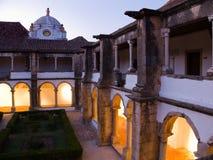 Convento da Senhora da Assuncao faro algarve portugal Arkivbilder