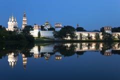 Convento das donzelas novas. Moscovo, Rússia. foto de stock